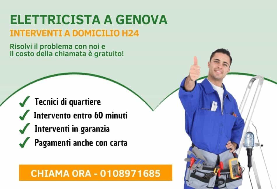 Elettricista Genova - Pronto Intervento